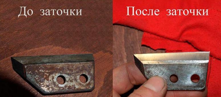 Все о заточке ножей для ледобура своими руками