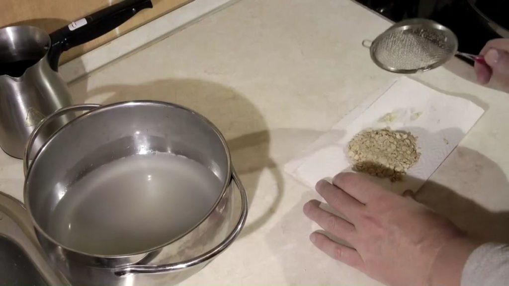 Как приготовить геркулес для рыбалки