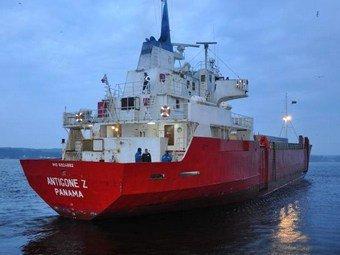 Судно с российским экипажем терпит бедствие в Северном море
