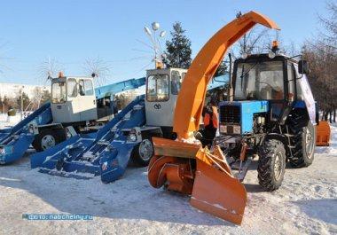 В ближайшие дни на дорогах города появится новая снегоуборочная техника