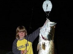 Австралийский девятилетний мальчик выловил 27-килограммовую рыбу