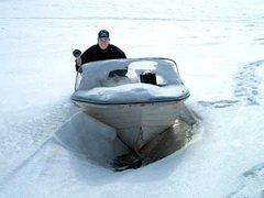 В Новокузнецке прошел рейд по местам зимней рыбалки