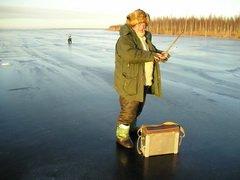 На Смоленской ГРЭС прошли соревнования по подледному лову рыбы