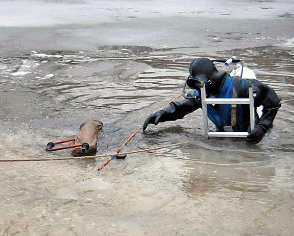 В Луганской области, утонул рыбак