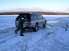 На юго-восточном побережье Сахалина запретили выход на лед