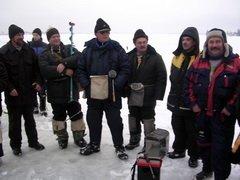 В Зиме (Иркутск) определены лучшие рыбаки