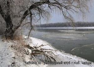 В Нижнекамском районе рыбаки открыли зимний сезон