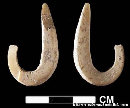 Археологи обнаружили древнейший рыболовный крючок