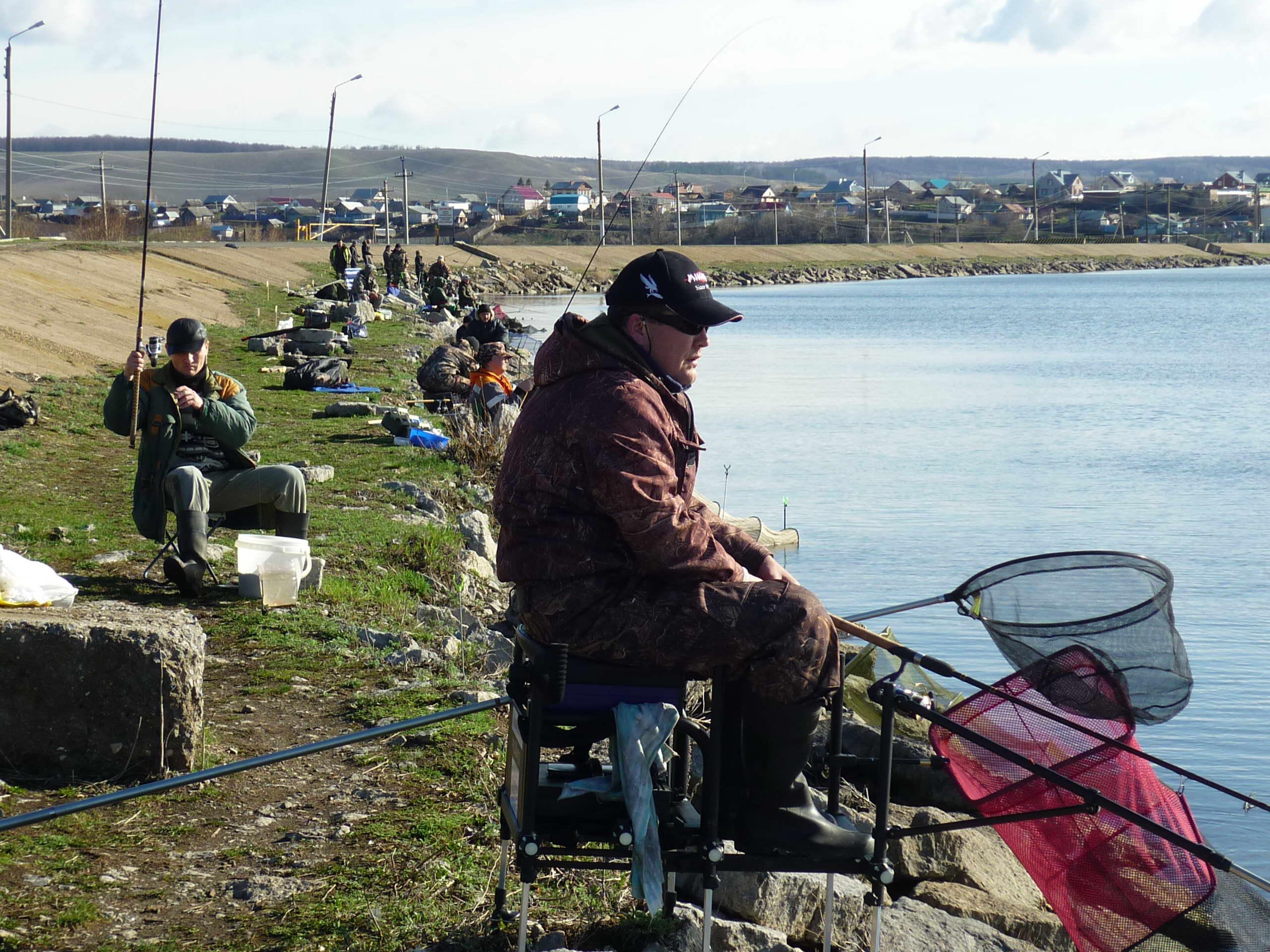 рыбалка в тукаевском