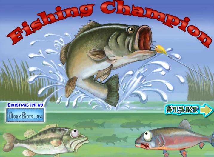 играть в рыбаку удочкой