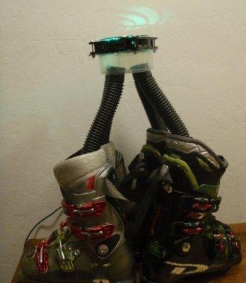 Как сделать сушилку для обуви (способ+фото)