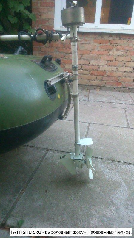Самодельный мотор на лодку