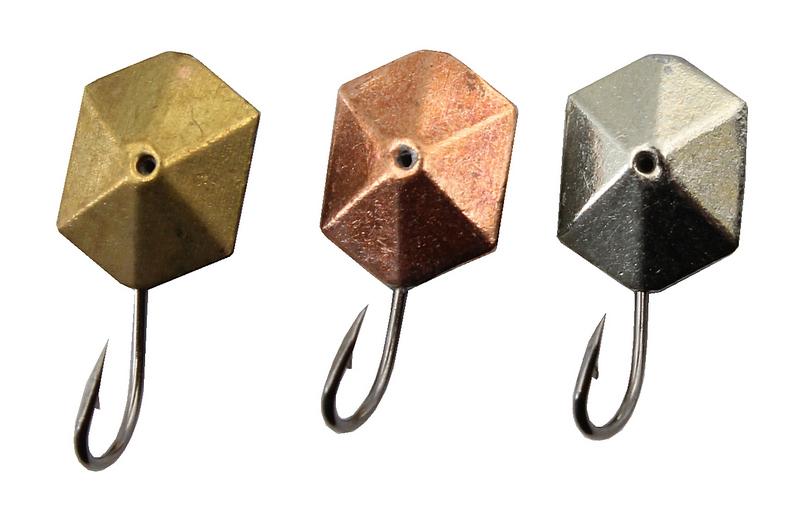 мормышки шестигранные