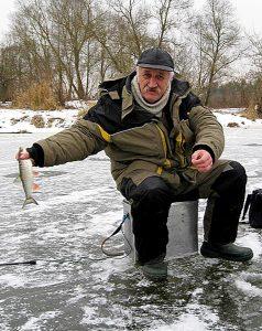 ловля головля зимой