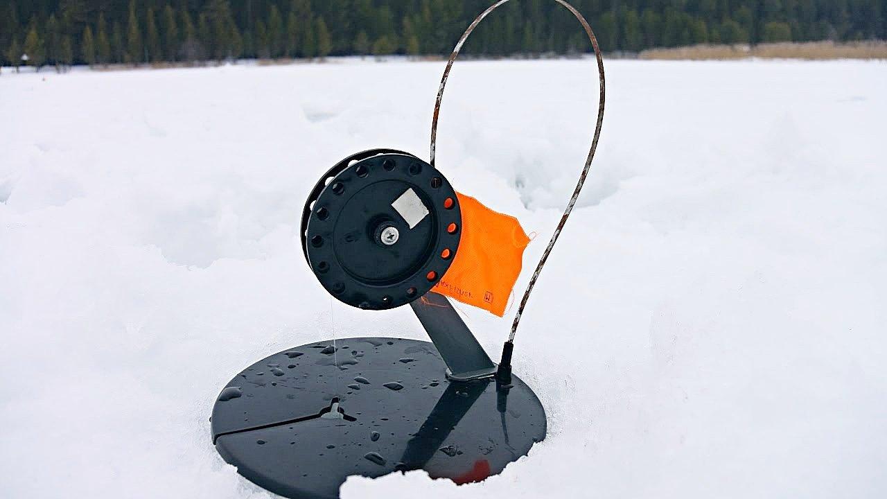 Зимняя ловля на жерлицы